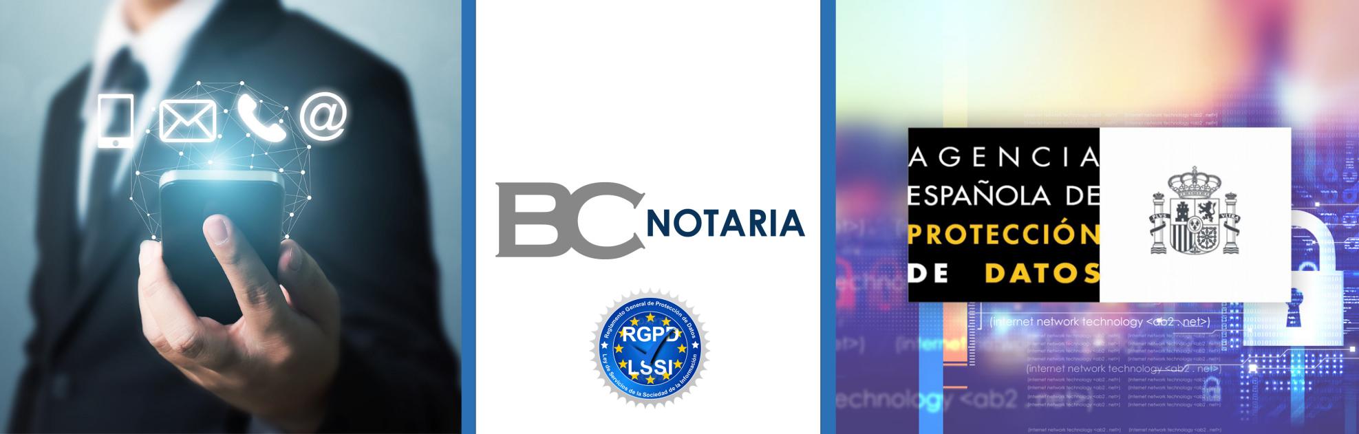 Gestión RGPD BcNotaria